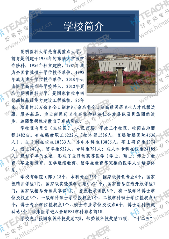 昆明医科大学2020年专升本招生简章_01.jpg